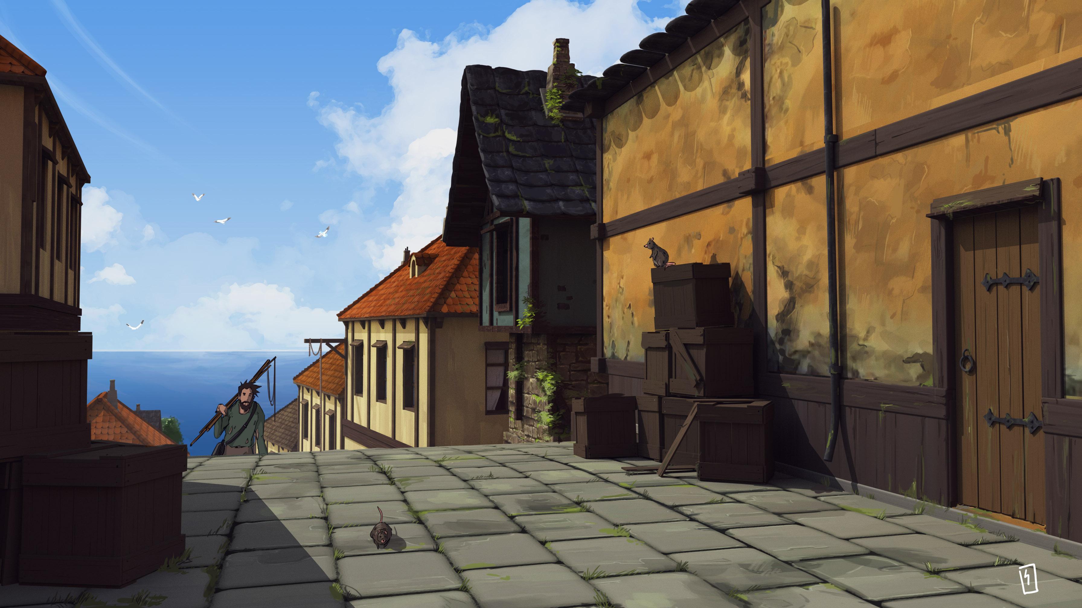 seaside-village