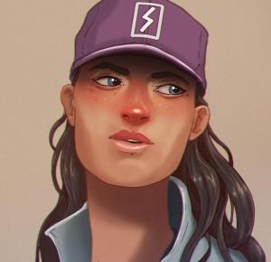 Girl-Cap